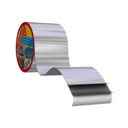 Самозалепваща битумна лента Sika Multiseal T размер 15 см х 10 м / алуминий