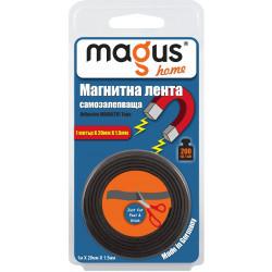Магнитна самозалепваща лента Магус 2000 / 1м х 20мм х 1.5мм