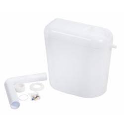 Тоалетно казанче MD Start/Stop с изолация и тръба / бяло