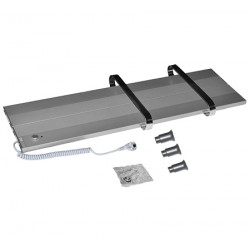 Алуминиева електрическа лира Sofia 400W 400/800мм метал/хром