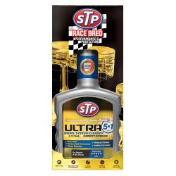 Добавка за цялостно почистване на горивната система STP Ултра 5 в 1 дизел 400мл