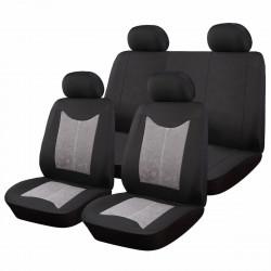 Универсални калъфи за автомобилни седалки Кадифе / 9 части