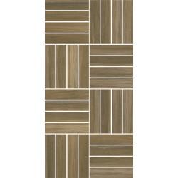 Декоративни плочки Cersanit Ambio Brown Mosaic 20х40