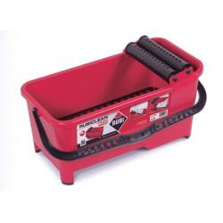 Пластмасова кофа за фугиране с решетка и 2 валяка Rubi