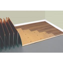 Подложка за винилни подови панели / LVT / 1.5мм 100х50см