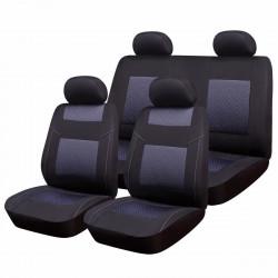 Комплект калъфи за автомобилни седалки RoGroup Premium Line / 9 части