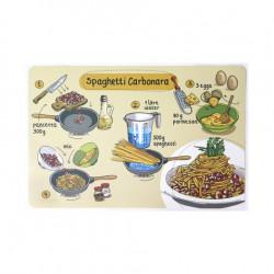 Подложка за хранене Pasta Anatomy