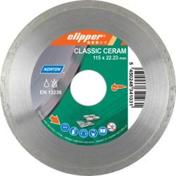 Диамантен диск Norton Класик Керам ø125х22,23мм