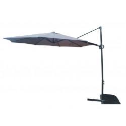 Градински чадър TLB019 Roma Simple тъмносив 3м