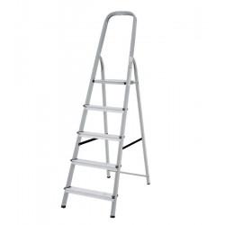 Домакинска стълба желязо/алуминий 4+1 стъпала 150кг