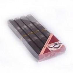 Комплект полиестерни подложки за хранене 4 броя / черни със сиво, квадрати