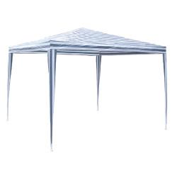 Градинска шатра полиетилен / 3х3м / бял+син TLC001 My Garden