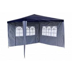 Страницa с прозорец за шатра TLC001 бяло/синьо