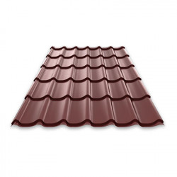 Метален покрив Basic 0.35мм х 1.22м х 2.2м