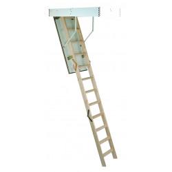 Сгъваема таванска стълба Minka MC Step Thermo / светъл отвор 120х70см / 280см