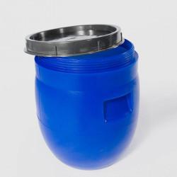 Пластмасов кръгъл бидон с широко гърло Sterk 23 литра