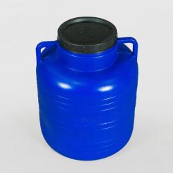 Пластмасов кръгъл бидон с широко гърло Sterk 80 литра