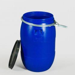 Пластмасов кръгъл бидон с обръч Sterk 85 литра