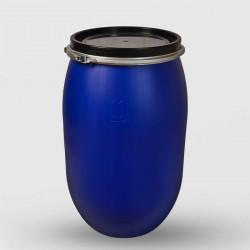 Пластмасов кръгъл бидон с обръч Sterk 150 литра