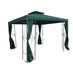 Метален павилион My Garden TLC150-A зелен 3x3m