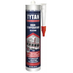 Високотемпературен силикон 250С TYTAN / червен 280мл