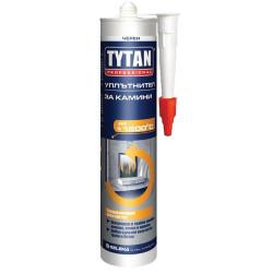 Огнеустойчив силикон - Кит за камини TYTAN  1250С  280мл