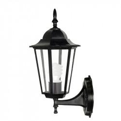 Градински стенен фенер Tino UP черен E27 / 60W