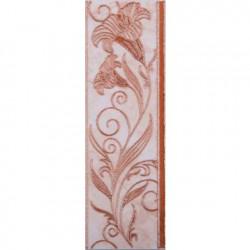 Плочки за стенна декорация / фриз 80 x 250 Ибица кафяви