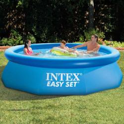 Надуваем басейн без помпа Intex 305х76см