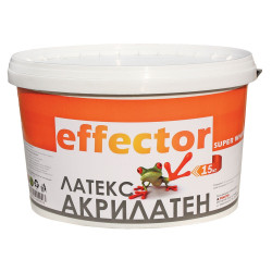 Акрилен латекс Effector 15 кг