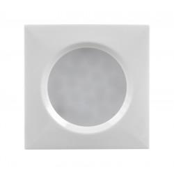 Мебелна LED луничка за вграждане, квадрат, 1.5W