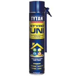 Полиуретаново лепило tytan ръчно топлоизолационни плоскости 750 мл