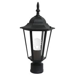 Градински фенер Tino black настолен E27 60W IP44