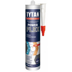 Монтажно лепило TYTAN POWER FLEX MS полимер / прозрачен 290мл