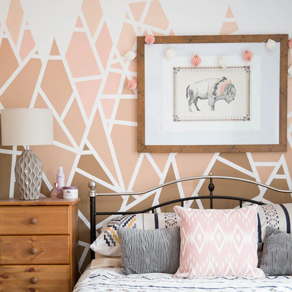 Свежи идеи за декориране с боя